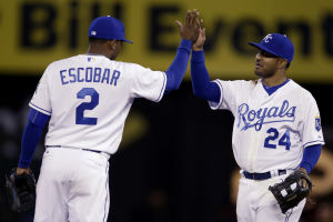 Volquez leads Royals to win over Twins in series opener