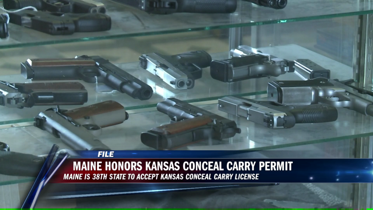 Another state now recognizes Kansas conceal carry | Local News ...
