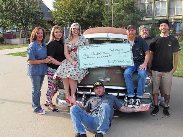 Charity car show returns bigger than before