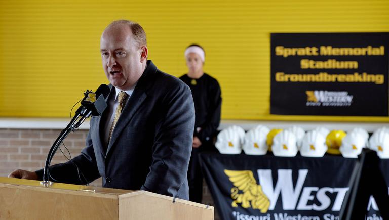 Western officially breaks ground on Spratt Stadium