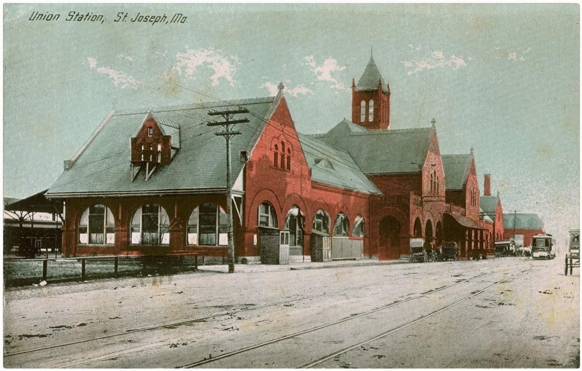 Postcards From The Past St Joseph Union Depot Local News