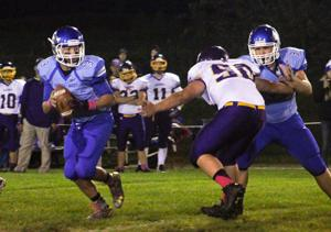 North-West Nodaway's Reynolds runs the greatest show in 8-man