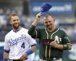 Butler in middle as Royals, A's rivalry heats up