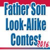 Father Son Look-Alike Contest