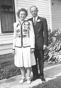 Mr. and Mrs. Strivens, 1947