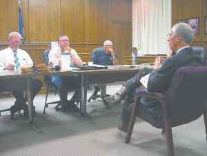 Commissioners meet