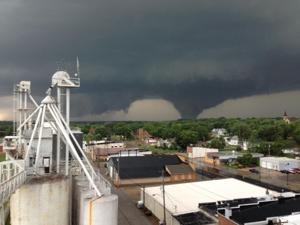 Tornadoes northwest of Pilger