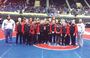 WRESTLING: Sonoraville shows fight as they finish third at State Duals