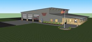 New Red Bud fire station nears construction