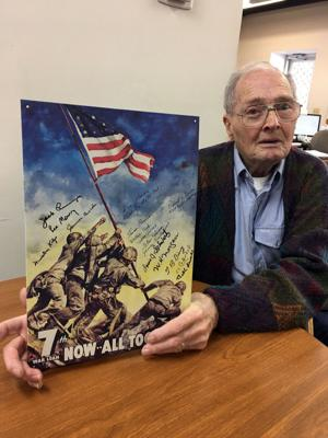 WWII veterans recall taking of Iwo Jima