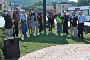 Ringgold breaks ground on four-month downtown streetscaping project