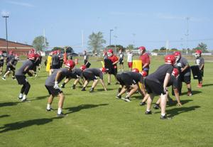 FOOTBALL: Sonoraville starts official practice with goals in mind