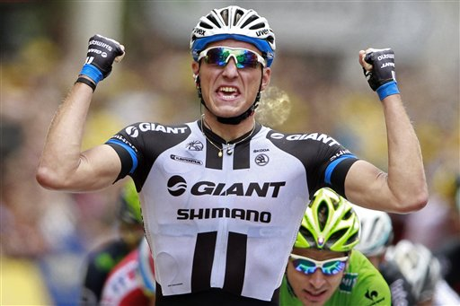 APTOPIX Britain Cycling Tour de France