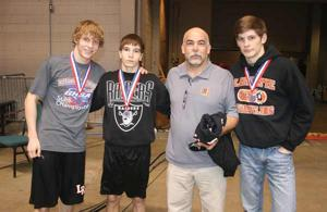 WRESTLING: Three LaFayette wrestlers medal in Macon