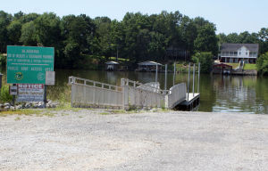 <p>One of the public boat ramps into Weiss Lake which could be improved significantly to lure major fishing tournaments to the lake.</p>