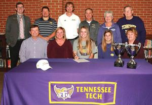 <p>Calhoun's Kate Mashburn signs with Tennessee Tech (Larry Greeson, For the Calhoun Times)</p>