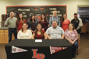 SOFTBALL: LaFayette's Sydney Adkins signs on with Cumberland University