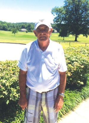<p>Tom Whitaker poses for a photo after shooting a 62 during a round at Fields Ferry Golf Course on July 3. (Contributed Photo)</p>