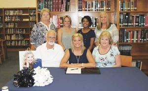 CHEERLEADING: Hannah Marshall becomes first-ever Cheer Cat from Gordon Lee