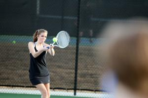 TENNIS: Area teams split matches at Rome Tennis Center