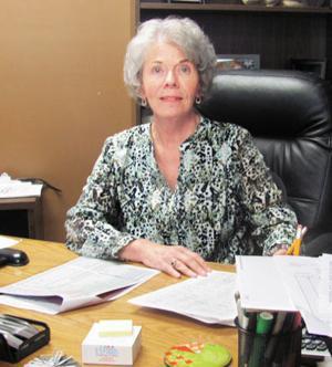 <p>Patsy Lynch, director of Polk School District's nutrition program.</p>