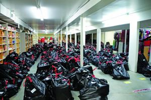 Voluntary Action Center distributes Christmas donations to needy families