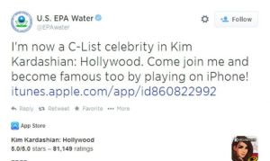 Someone at the EPA Really Likes Kim Kardashian's New iPhone Game