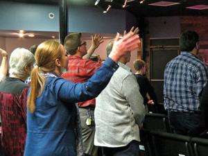 <p>The members of seven Catoosa, Walker and Whitfield County churches gather several times a year to pray and worship together. (Catoosa News photo/Tamara Wolk)</p>
