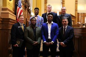 Rome Wolves honored