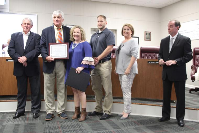 Youngs Grove Elementary School Teacher of the Year 2016