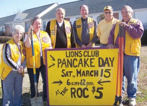 Lions Club Pancake Day, March 15 at the ROC