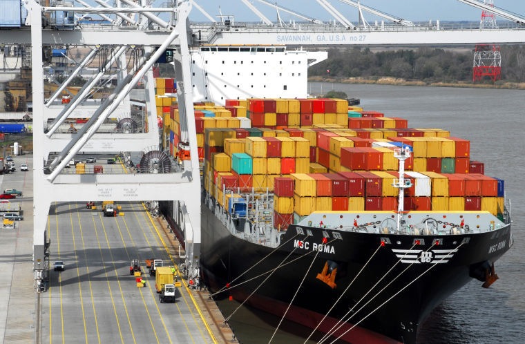 Georgia Ports Authority dock