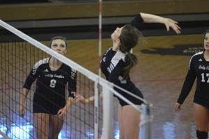 VOLLEYBALL: Coosa breezes through 1st round