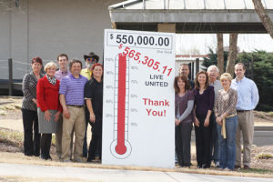 United Way totals 2014