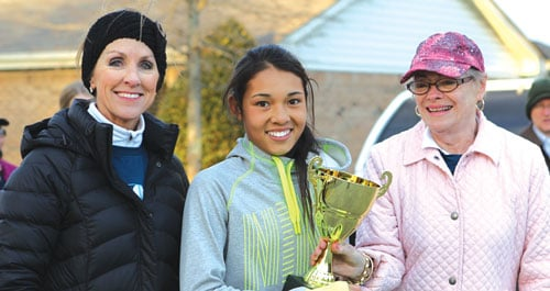 Mei Chin is overall top female finisher at Run for Your Life 5K