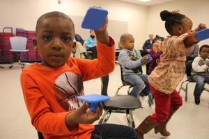 Kindermusik offers South Rome Early Learning Center students a fun way to learn