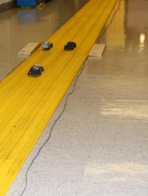 Race to the top: Pinewood Derby teaches science skills
