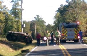 Fatality reported in wreck on Ward Mountain Road