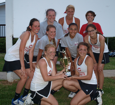 Lady 'Dogs place second