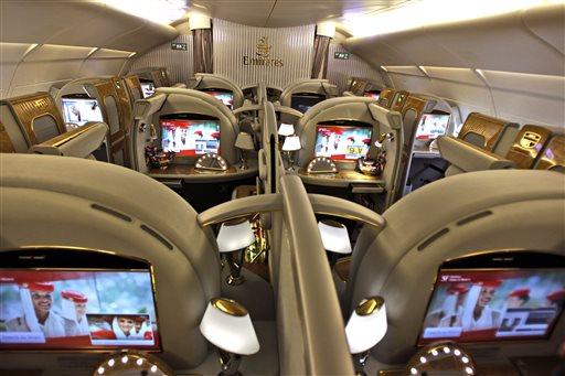 Wealth Gap Luxury in the Skies Glance
