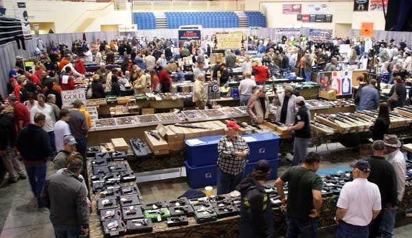 Gun buyers, dealers flock to The Forum