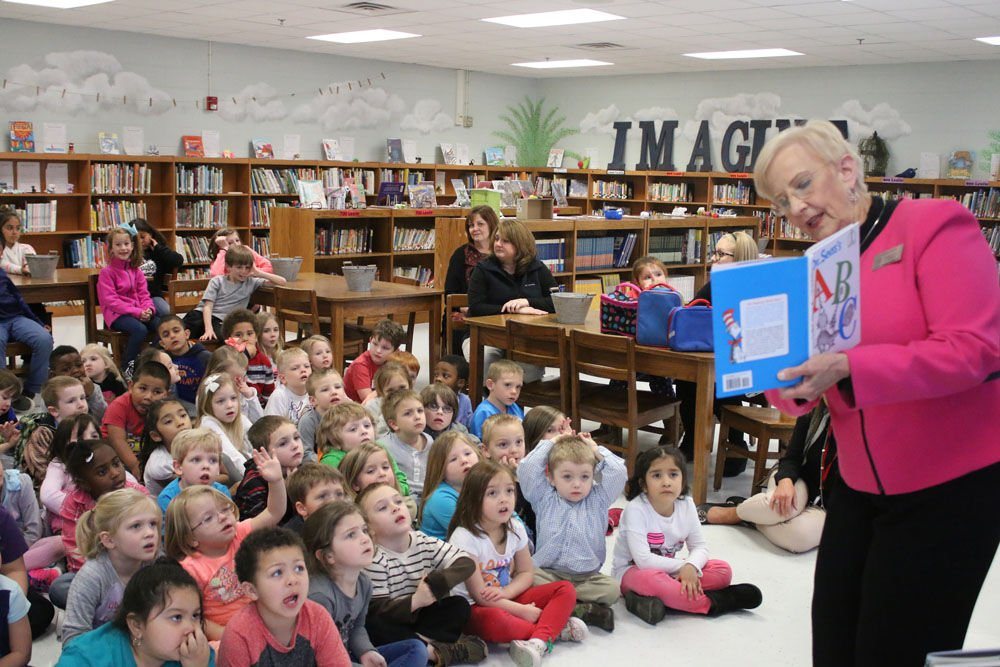 First Lady Of Georgia Visits Garden Lakes Elementary Gallery