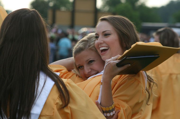Rockmart High School graduation 2014