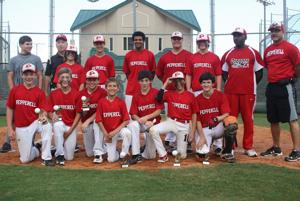 <p>The team is made up of Nick Crooks, Bruce Anderson, Mason Fincher, Kemp Edge, Landon Camp, Chase Gresham, Darien Pasley, Griffin Kanelos, Avery Wooten, Keelan Long, Tucker McCoy and Barrett Pence. The team is coached by Howard Long, Richard Penson and John Davis. (Contributed photo)</p>