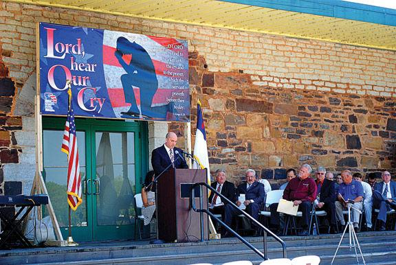 National Day Of Prayer Held At Ringgold Depot News