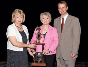 The Cherokee County Farm-City Committee wins award