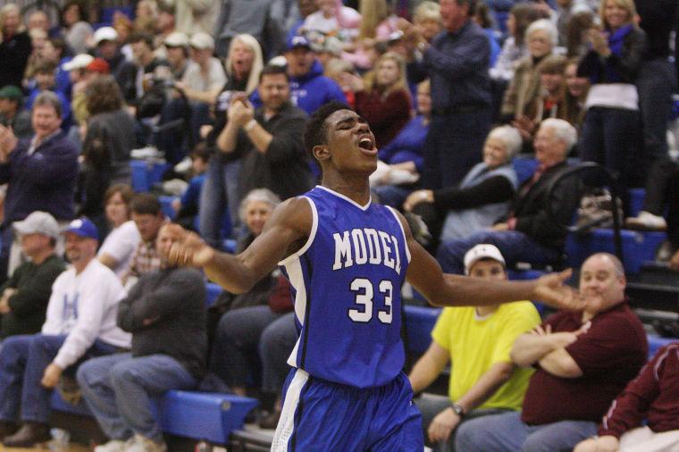 Region 7-AA Basketball: Model Boys v. Armuchee
