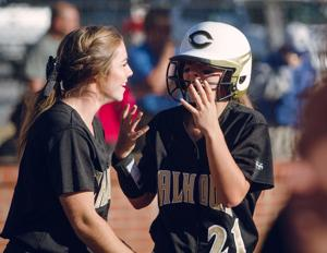PREP SOFTBALL: Calhoun Lady Jackets down Oconee Lady Warriors