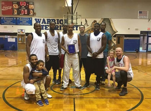 Gordon Central alumni tournament men's winner Fast Five