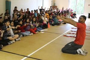 West End 5th-graders train like NFL players in Falcons Junior Training Camp